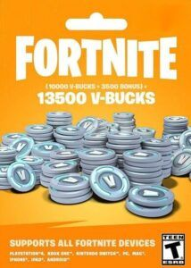 13500 Pavos (V-Bucks) Fortnite