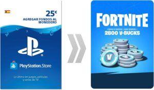 2800 Pavos PSN PlayStation