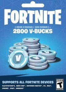 2800 Pavos (V-Bucks) Fortnite
