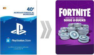 5000 PAVOS PSN PlayStation