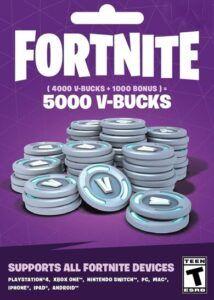 5000 Pavos (V Bucks) Fortnite