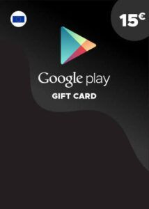 Tarjeta Google Play 15€ España