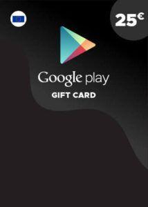 Tarjeta Google Play 25€ España