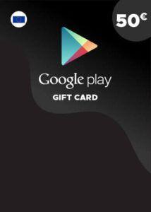 Tarjeta Google Play 50€ España