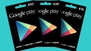 Tarjeta Google Play España
