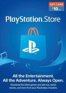 Tarjeta PlayStation 10 dolares barata