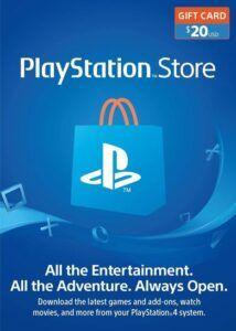 Tarjeta PlayStation 20 dolares barata