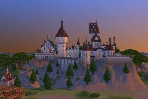 castillo Harry Potter