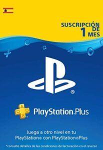 PlayStation Plus 1 mes España