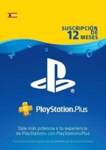 PlayStation Plus 12 meses España