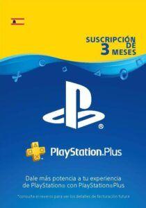 PlayStation Plus 3 meses España
