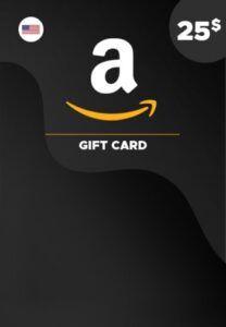 Tarjeta de Amazon 25 dolares estados unidos