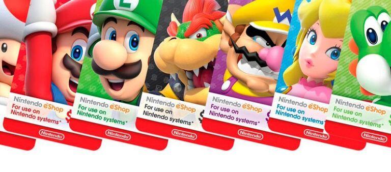 Tarjetas Nintendo Switch Baratas