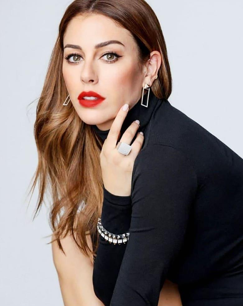 Foto de Blanca Suarez con los labios rojos