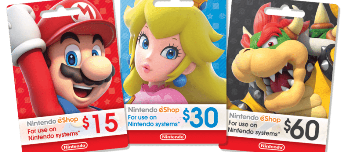 Nintendo Gift Cards Argentina