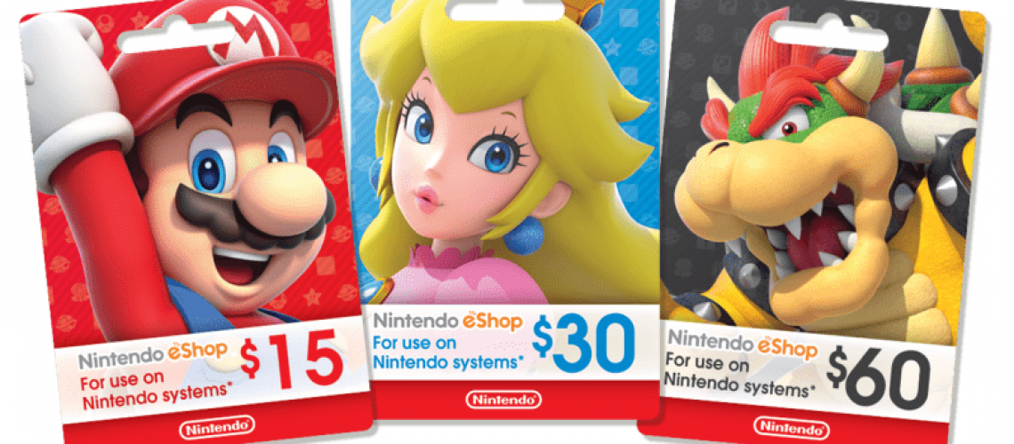 Nintendo Gift Cards Argentina