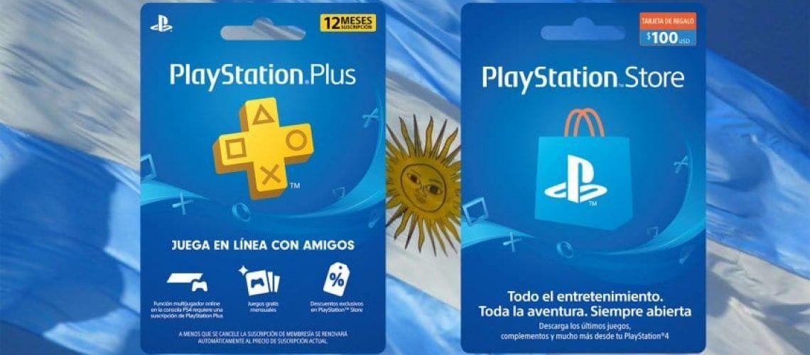 PSN Cards Argentina baratas