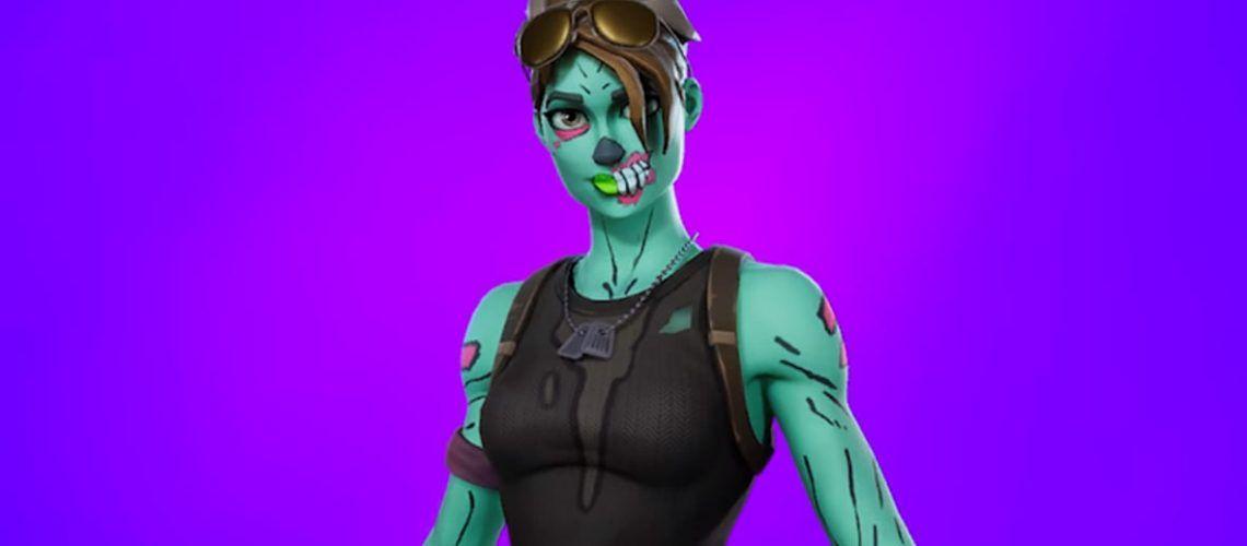 Skin Ghoul Trooper Fortnite